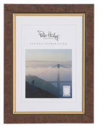 Peter Hadley Fotolijst Marlene Wortelnotenhout goud 10x15cm
