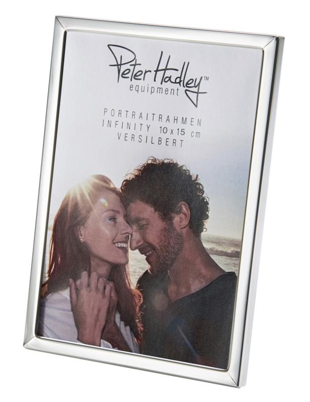 Peter Hadley Fotolijst Pure zilver glans 10x15cm