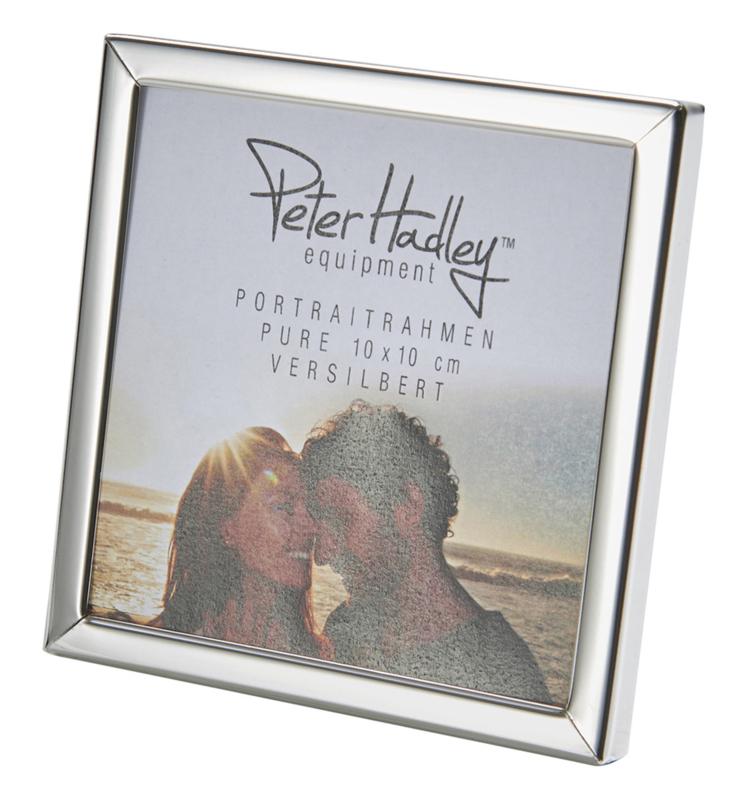 Peter Hadley Fotolijst Pure zilver glans 10x10cm