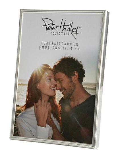 Peter Hadley Fotolijst Emotions zilver glans 6x9cm