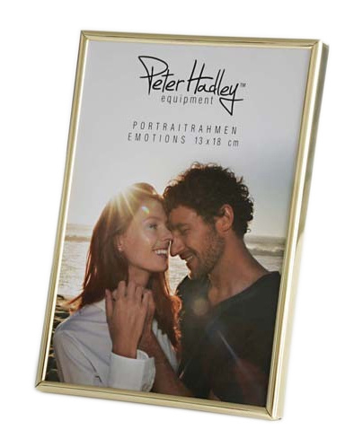 Peter Hadley Fotolijst Emotions goud glans 15x20cm