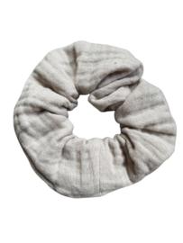 Scrunchie zacht katoen - zand