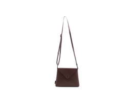 Tinne + Mia - Envelope bag chocolat red