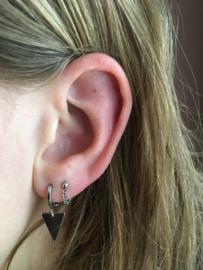 Essentialistics oorbellen - triangle
