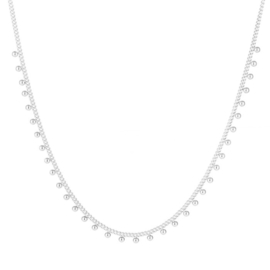 Essentialistics ketting - dots silver