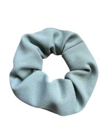 Scrunchie fair trade - mintgroen