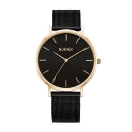 Burker horloge - Ruby Black Gold