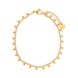 Essentialistics armband - dots gold