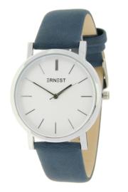 Ernest horloge - Andrea donkerblauw