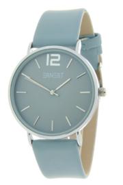 Ernest horloge - Cindy large ijsblauw
