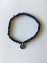 Bijoux armband - donkerblauw