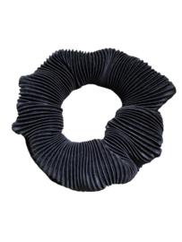 Scrunchie rib - zwart