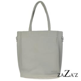 Shopper zaZa's  - lichtgrijs