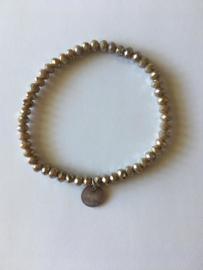 Bijoux armband - taupe