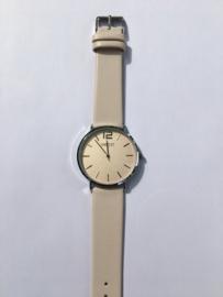 Ernest horloge - Cindy large crème