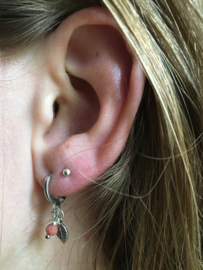 MOOI! Jewels oorbellen - little leaf