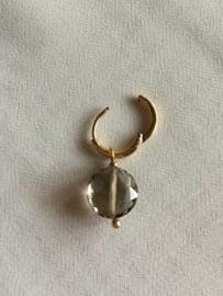 By Jam Gioielli oorbellen - taupe goud