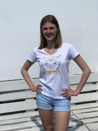 Toxik short, kort model, ripped look, bleekblauw