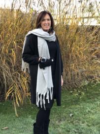 Sjaal, basic, light grey