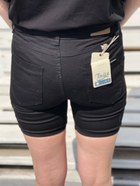 Toxik short, jeansmodel , zwart