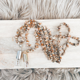 Rollerball Chip Ketting Picture Jaspis