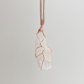 Wire Wrap Seleniet Rose Gold Draad 1