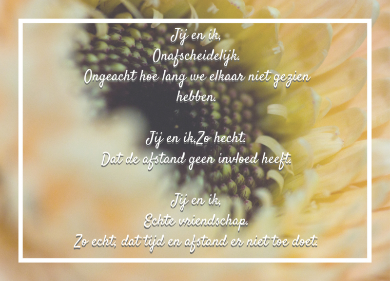 Vriendschap | Kaart