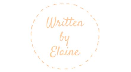 Written by Elaine
