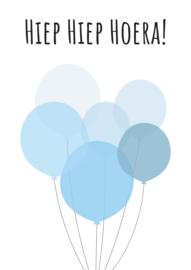 Hiep Hiep Hoera ballonnen