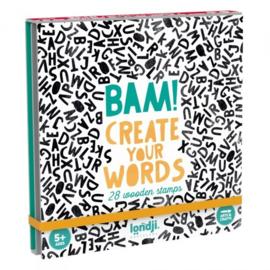 Stempelset Bam! Words