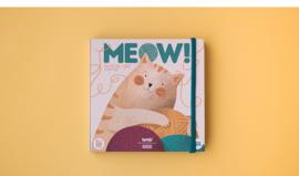 Houten stapelspel Meow!