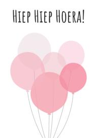 Hie Hiep Hoera ballonnen