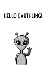 Hello Earthling Alien