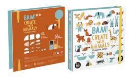 Stempelset Bam! Animals