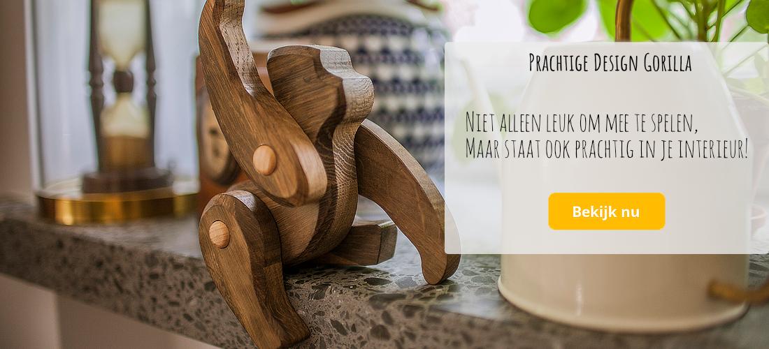 houten speelgoed bajo design gorilla