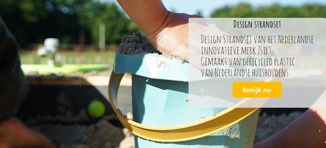 design duurzame strandset van Zsilt Nederlands