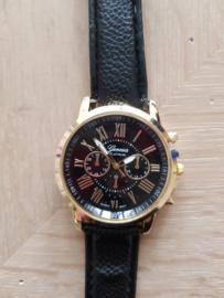 Horloge Geneva Black