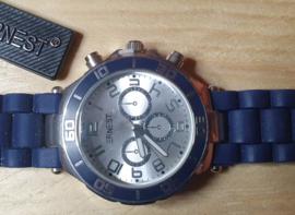 Horloge blue