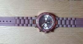 Horloge oud roze