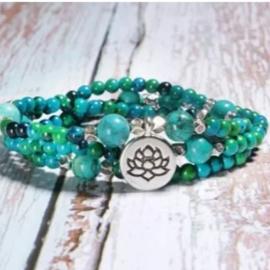 Armband natuursteen turquoise
