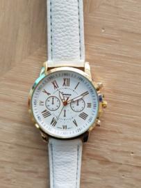 Horloge Geneva white