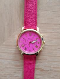 Horloge Geneva Pink