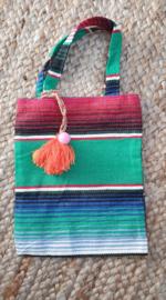Peru Bag met oranje kwast