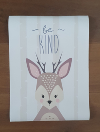 Poster Deer Be Kind