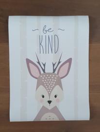 Poster Deer Be Kind