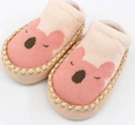 Baby schoentjes Bear Pink