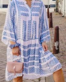 Tuniek aztec blauw