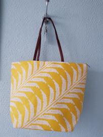 Strandtas Shopper Yellow