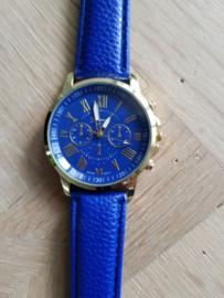 Horloge Geneva Blue
