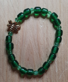 Armband Green Bee